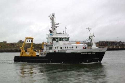 Onderzoeksschip Simon Stevin van Vloot